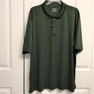 PGA Tour Polo Shirt Size 2XL Dark Green